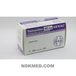 TAMOXIFEN 40 mg HEXAL Filmtabletten 100 St