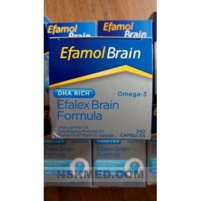Эфамол Эфалекс (EFAMOL efalex) 240 капсул