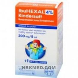 IBUHEXAL 4% KINDERSAFT