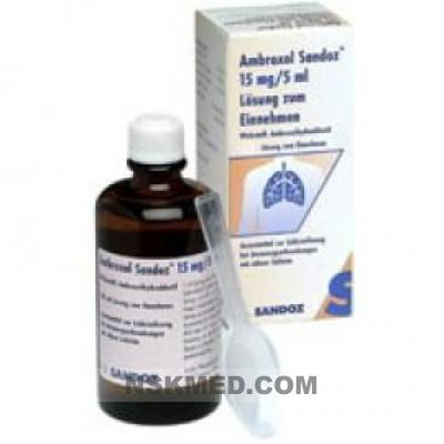 AMBROXOL SANDOZ 15MG/5ML