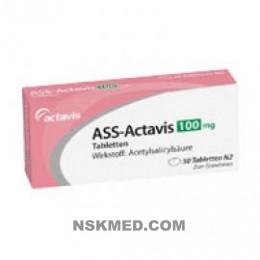 ASS ACTAVIS 100MG TABL