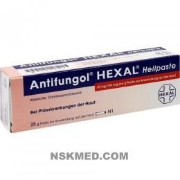 ANTIFUNGOL HEXAL Heilpaste 25 g