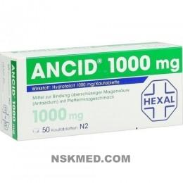 ANCID 1.000 mg Kautabletten 50 St