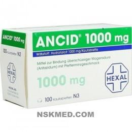 ANCID 1.000 mg Kautabletten 100 St