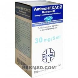AMBROHEXAL S Hustensaft 30 mg/5 ml 100 ml