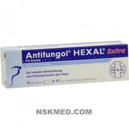 ANTIFUNGOL HEXAL Extra 1% Creme 15 g