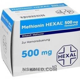 Метионин таблетки (METHIONIN HEXAL) 500 mg Filmtabletten 100 St
