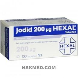 JODID 200 HEXAL Tabletten 100 St