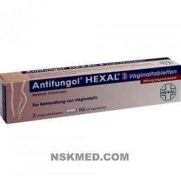ANTIFUNGOL HEXAL 3 Vaginaltabletten 3 St