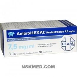 AMBROHEXAL Hustentropfen 7,5 mg/ml 100 ml