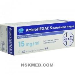 AMBROHEXAL S Hustentropfen 15 mg/ml 100 ml
