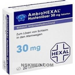 AMBROHEXAL Hustenlöser 30 mg Tabletten 20 St