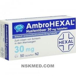 AMBROHEXAL Hustenlöser 30 mg Tabletten 50 St