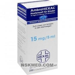 AMBROHEXAL Hustensaft für Kinder 250 ml