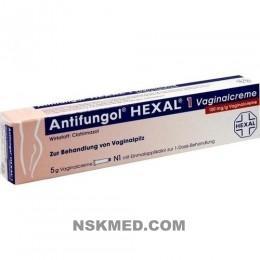 ANTIFUNGOL HEXAL 1 Vaginalcreme 5 g