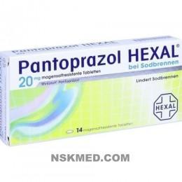 PANTOPRAZOL HEXAL b.Sodbrennen magensaftres.Tabl. 14 St