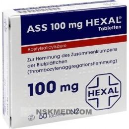 ASS 100 HEXAL Tabletten 50 St