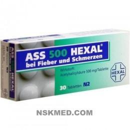 ASS 500 HEXAL Tabletten 30 St