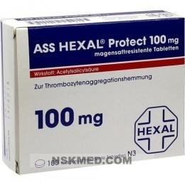 ASS HEXAL Protect 100 mg magensaftres.Tabletten 100 St