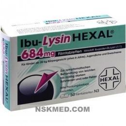IBU LYSIN HEXAL 684 mg Filmtabletten 50 St