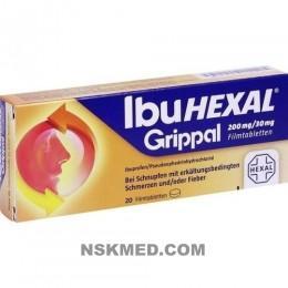 IBUHEXAL Grippal 200 mg/30 mg Filmtabletten 20 St