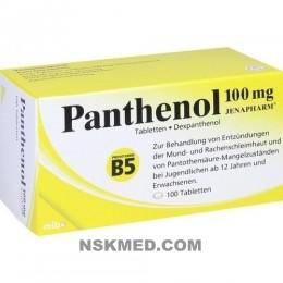 PANTHENOL 100 mg Jenapharm Tabletten 100 St