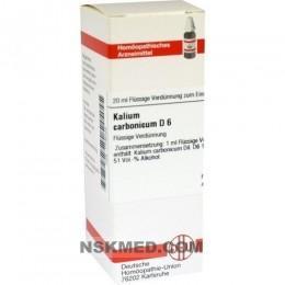 KALIUM BICHROMICUM D 12 Dilution 20 ml