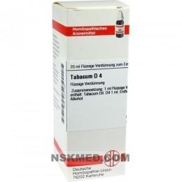 TABACUM D 4 Dilution 20 ml