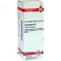 TARAXACUM D 2 Dilution 20 ml