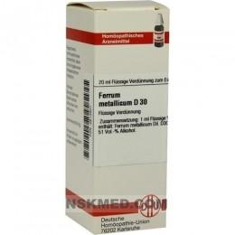 FERRUM METALLICUM D 30 Dilution 20 ml