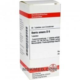 IBERIS amara D 6 Tabletten 80 St