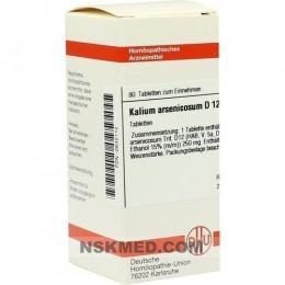 KALIUM ARSENICOSUM D 12 Tabletten 80 St