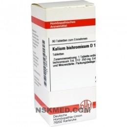 KALIUM BICHROMICUM D 12 Tabletten 80 St