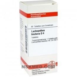 LACHNANTHES tinctoria D 4 Tabletten 80 St