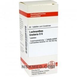 LACHNANTHES tinctoria D 6 Tabletten 80 St
