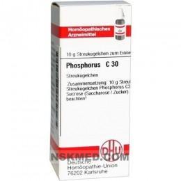 Фосфор гранулы (PHOSPHORUS) C 30 Globuli 10 g