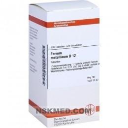 FERRUM METALLICUM D 12 Tabletten 200 St