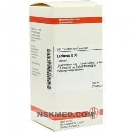 LACHESIS D 30 Tabletten 200 St