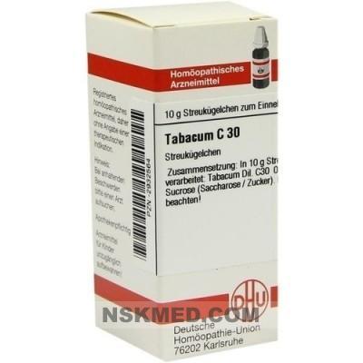 TABACUM C 30 Globuli 10 g