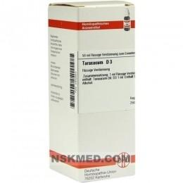 TARAXACUM D 3 Dilution 50 ml