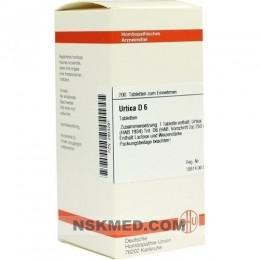 URTICA D 6 Tabletten 200 St