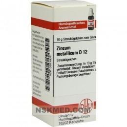 ZINCUM METALLICUM D 12 Globuli 10 g