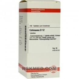 ECHINACEA HAB D 12 Tabletten 200 St