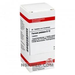 FERRUM JODATUM D 12 Tabletten 80 St