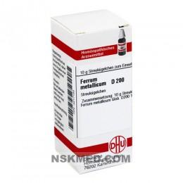 FERRUM METALLICUM D 200 Globuli 10 g