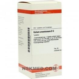 KALIUM ARSENICOSUM D 6 Tabletten 200 St