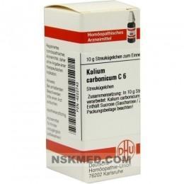 KALIUM CARBONICUM C 6 Globuli 10 g