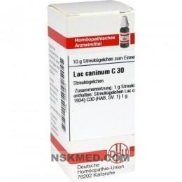 LAC CANINUM C 30 Globuli 10 g
