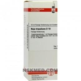 NAJA TRIPUDIANS D 10 Dilution 50 ml