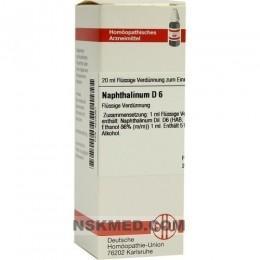 NAPHTHALINUM D 6 Dilution 20 ml